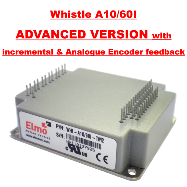 Whistle Servo Drive WHI-A10/60I- Advanced version