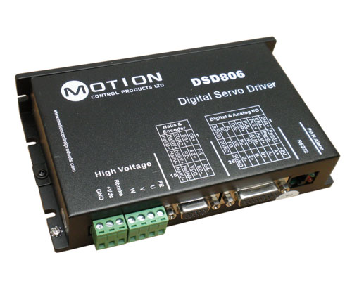 Dsd806 servo drive servo drives for Servo motors and drives inc