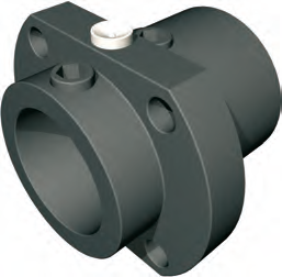 Flanged Clamping Block for 1605 and 1610 Universal Ball Nut