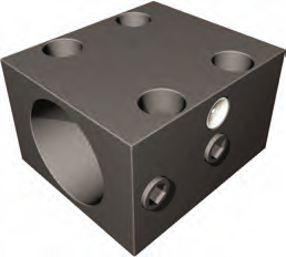 Based Clamping Block for 2505 and 2510 Universal Ball Nut