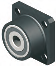 Mounting Block for 16mm Ballscrew (Fixed End)