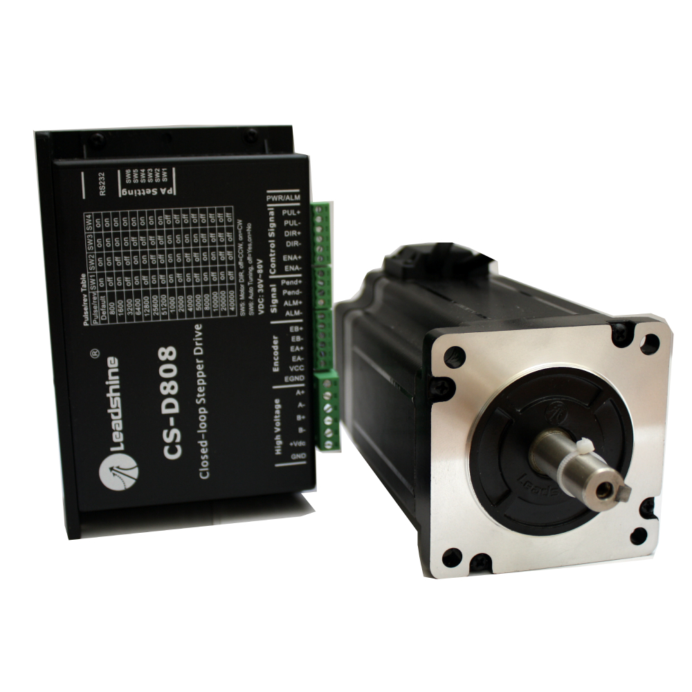 CS-D808 Closed-loop Stepper Drive / Motor System