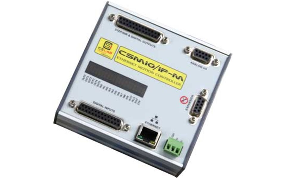 CSMIO/IP-M 4-axis Ethernet Motion Controller (STEP/DIR)